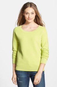 Halogen® Side Zip Ottoman Knit Sweater |Nordstrom|$78|